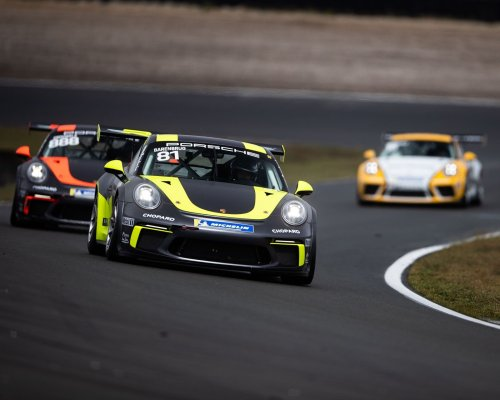Team RaceArt behaalt dubbelslag in Porsche Carrera Cup in Zolder