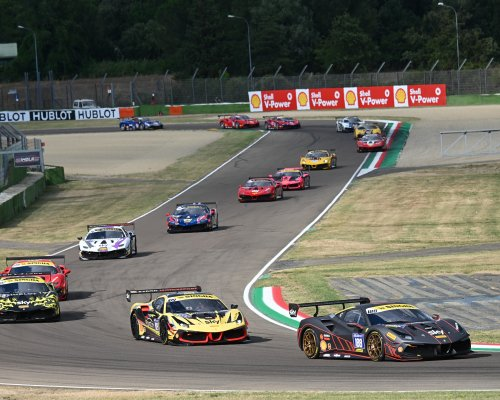 Successful debut Team RaceArt - Kroymans in Ferrari Challenge