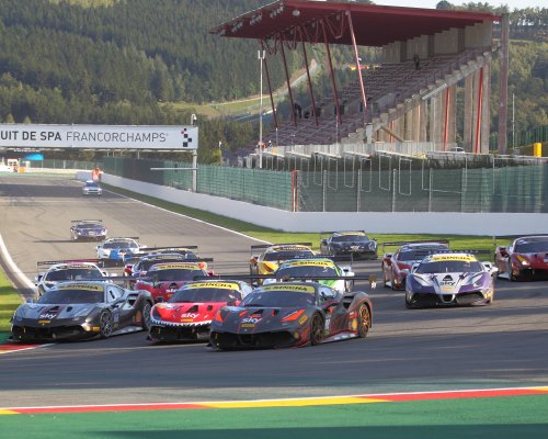 Valuable points scored during home game at Spa-Francorchamps